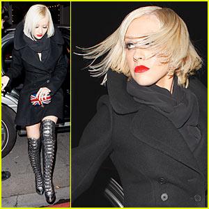 Christina Aguilera: Cecconi's Birthday Bash!