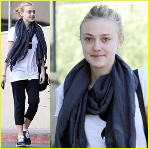 Dakota Fanning: Workout Queen!