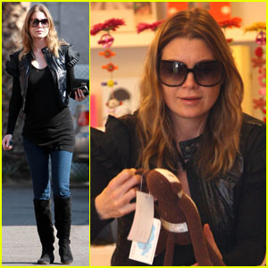 Ellen Pompeo is Monkeying Around