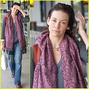Evangeline Lilly is A Little Lost