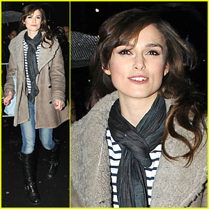 Keira Knightley: West End Edgy!