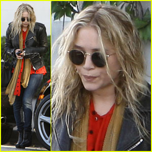 Mary-Kate Olsen Takes A Ticket