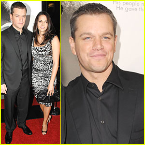 Matt Damon: My Wife Loves Clint Eastwood!