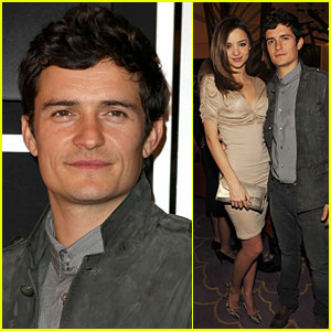 Orlando Bloom & Miranda Kerr: Vdara Hotel Hotties