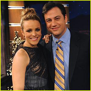 Rachel McAdams Visits 'Jimmy Kimmel Live'