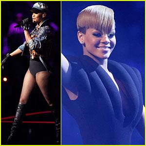 Rihanna Hits Germany's Popstars