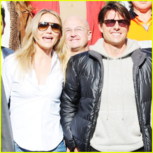Tom Cruise &#038; Cameron Diaz Wrap 'Knight and Day'