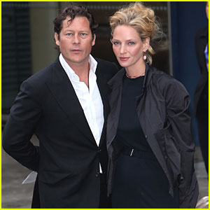 Uma Thurman & Fiance Arpad Busson Call Off Engagement