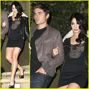 Zac Efron: Vanessa Hudgens Birthday Bash!