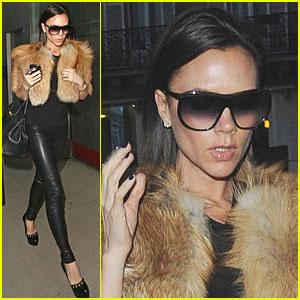 Victoria Beckham Pre-furs Black
