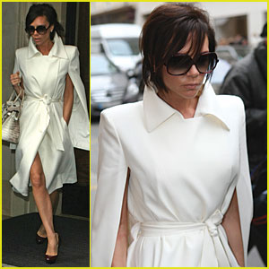 Victoria Beckham is White Hot