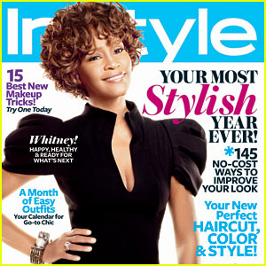 Whitney Houston Covers 'InStyle' January 2010