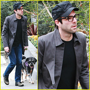 Zachary Quinto: Spike TV Video Game Awards on Saturday!