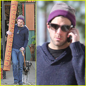Zachary Quinto: From Rugs To Riches
