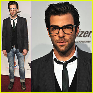 Zachary Quinto Visits the Video Game Awards