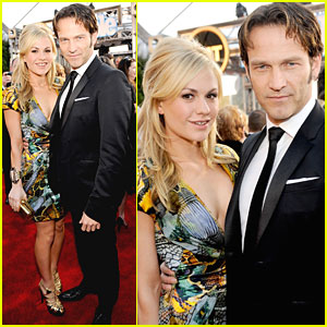 Anna Paquin - SAG Awards Red Carpet with Stephen Moyer!