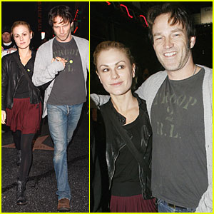 Anna Paquin: Radiohead Concert with Stephen Moyer!