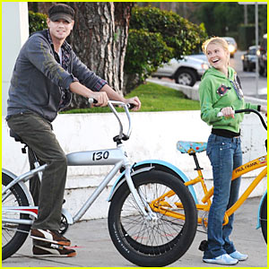 Chad Michael Murray & Kenzie Dalton: Biking Buddies