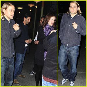 Liv Tyler & Charlie Hunnam: Movie Date!