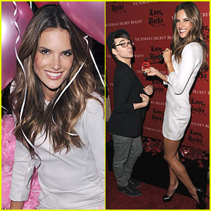 Christian Siriano & Alessandra Ambrosio: Tease for Two!