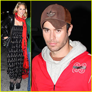 Enrique Iglesias & Anna Kournikova: Burgers and Be
