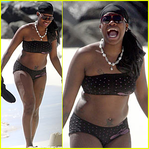 Fantasia Barrino: Bikini & Back to School!