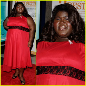 Gabourey Sidibe Goes Down Under