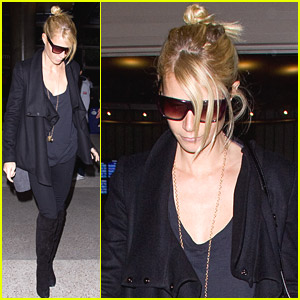 Gwyneth Paltrow Returns From London