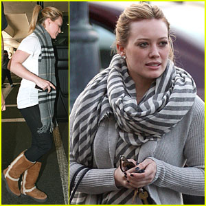 Hilary Duff Comes Home to Hollywood