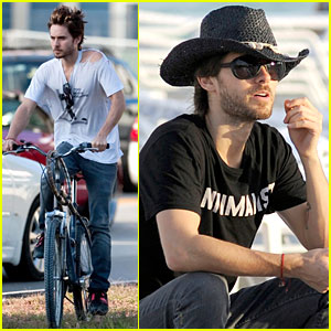 Jared Leto: Cowboy Hat Hippie - VIDEO!