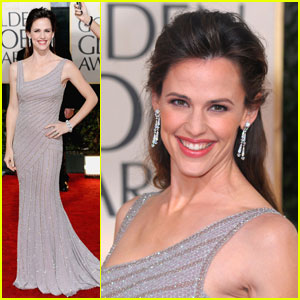 Jennifer Garner - Golden Globes 2010 Red