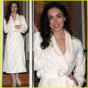 Megan Fox Robes Up For 'Passion Play'