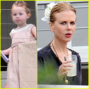 Nicole Kidman Celebrates New Year's Eve with Family