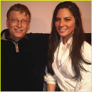 Olivia Munn + Bill Gates = Bing BFFs