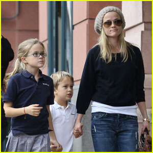 Reese Witherspoon is Hand Holding Happy