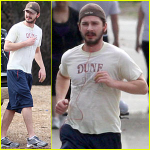 Shia LaBeouf Knocks It Outta The Roseball Park