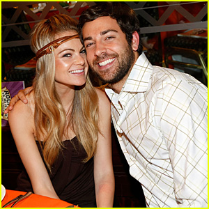 Zachary Levi & Caitlin Crosby Split