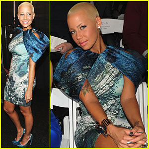 Amber Rose is Siriano Sexy