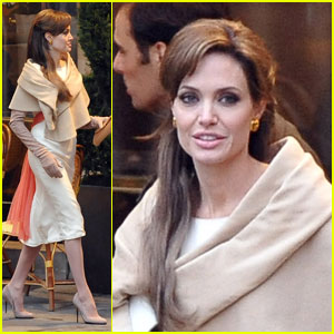 Angelina Jolie Takes On 'The Tourist'