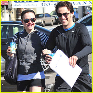 Anna Paquin & Stephen Moyer: Vita Coco Couple