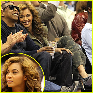 Beyonce & Jay-Z: Basketball Buddies