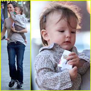 Jennifer Garner: Valentine's With Seraphina