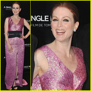 Julianne Moore is Paris Pleased