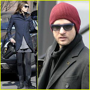 Justin Timberlake & Jessica Biel Do Edward's