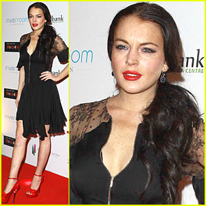Lindsay Lohan: Red Lipstick on the Red Carpet!