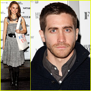 Natalie Portman Feeds America with Jake Gyllenhaal
