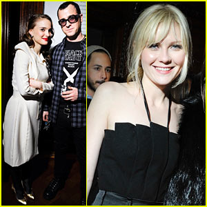 Natalie Portman: Rodarte Party with Kirsten Dunst!