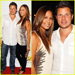 Nick Lachey & Vanessa Minnillo Party With Maxim
