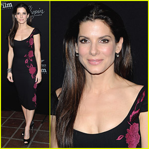 Sandra Bullock Accepts The American Riviera Award