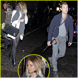 Sienna Miller Hangs with Jude Law's Parents